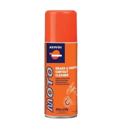 Repsol Moto Brake Parts Cleaner (400 мл.), (1/12)