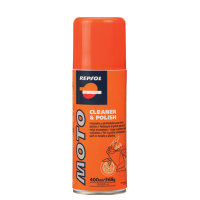 Repsol Moto Cleaner & Polish  (400 мл.), (1/12)