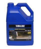 YAMALUBE  4M 10W30  FC-W  Outboard engine oil (3.78 L)  (1/4)