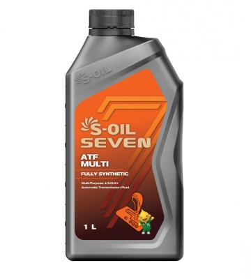 S-OIL 7  ATF  MULTI  .(1л), синтетика  (1/12)